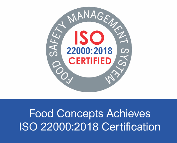 Food Concepts - Blog Post - Achieves ISO Certification