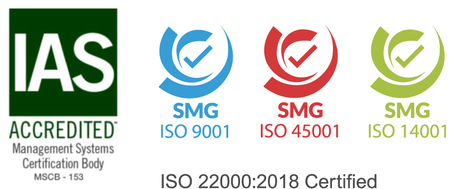 Food Concepts - Iso Certified